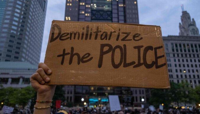 Смерть Джорджа Флойда: обвинения предъявлены четырем бывшим полицейским