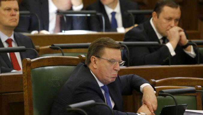 Кучинскис: были опасения, что правительство рухнет из-за бюджета