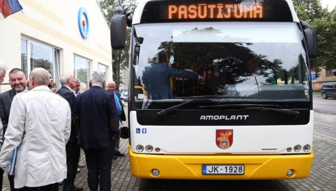 TV3: Фирма с капиталом в один евро получила выгодный контракт на мойку автобусов