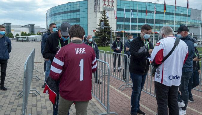 Матч Латвия — Германия посетили 934 зрителя, выручка от билетов — 102 тысячи евро