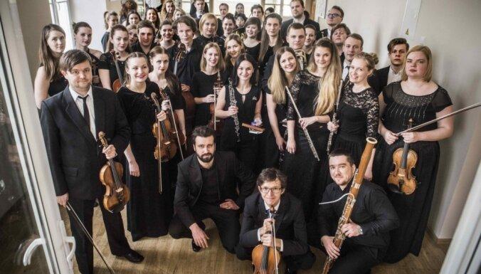 Kristiana Jervi un Gunta Kuzmas vadībā Baltijas Akadēmiju orķestris muzicēs Cēsīs un Rēzeknē