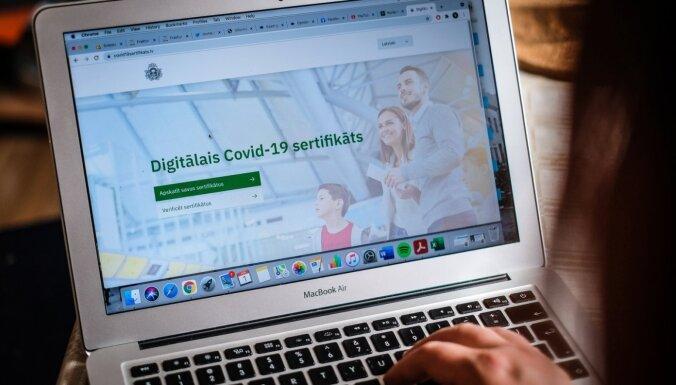 Video: Latvijā jau izveidoti gandrīz 140 000 digitālo Covid-19 sertifikātu