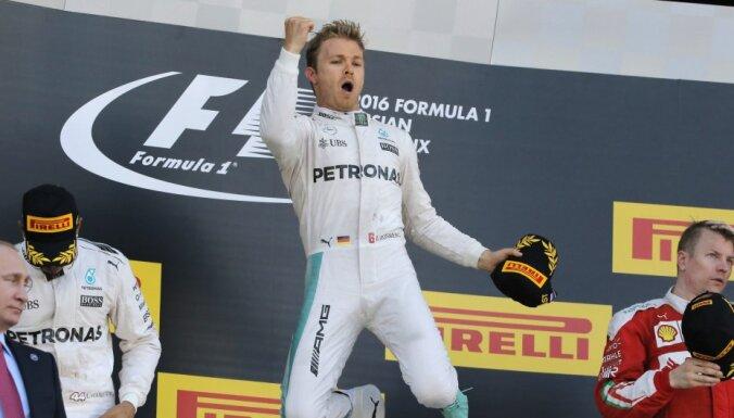 Росберг выиграл квалификацию к Гран-при Венгрии, Квят — 12-й