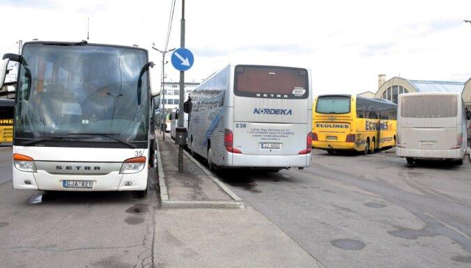 На автобусе Кални-Салдус и Лиепая - Рига ехал инфицированный Covid-19 пассажир