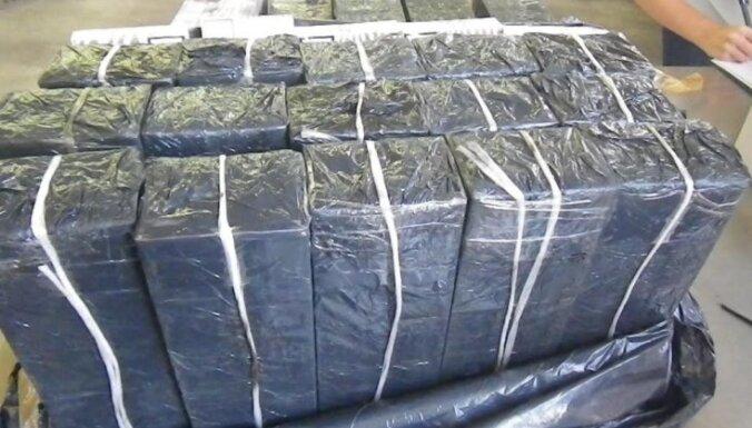 Контрабандисты спрятали полумиллиардную партию сигарет под калийными удобрениями