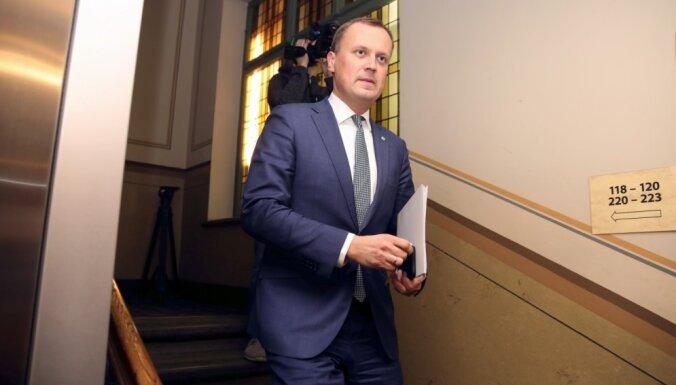 Tavars: VVD jaunā vadītāja kandidātu vērtēšanā jāpiedalās arī KNAB pārstāvim