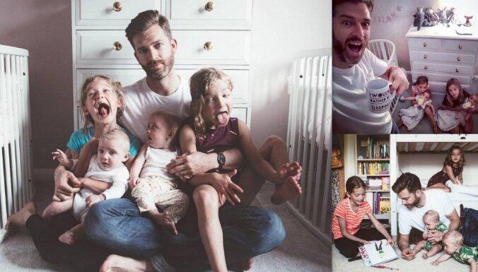 Многодетный отец показал в Инстаграме тяжесть своего быта
