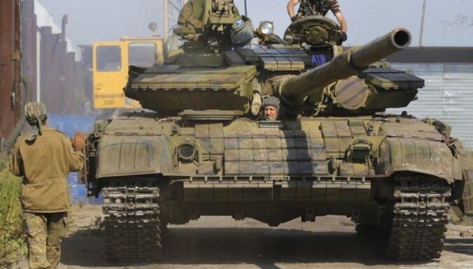 Киев: войска РФ в нескольких городах; в Донецке прогремел взрыв