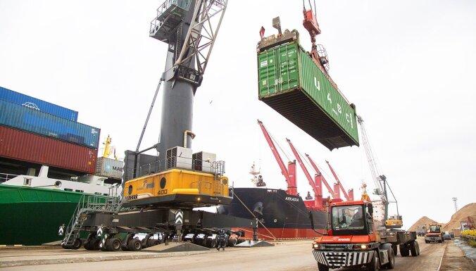 Внедрение цифровой автоматизированной системы позволяет почти втрое сократить время обработки грузов в Рижском порту