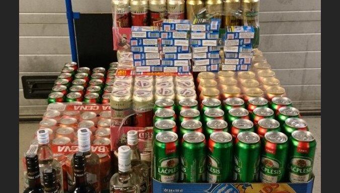 Норвегия: у гражданина Латвии изъяли более 200 литров пива, ликеры и сигареты