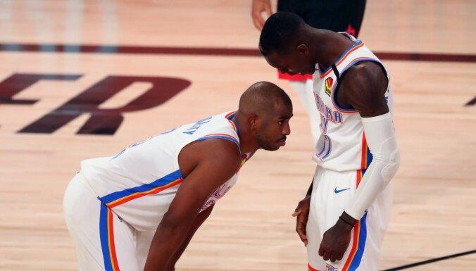 'Thunder' izlīdzina rezultātu sērijā pret 'Rockets'