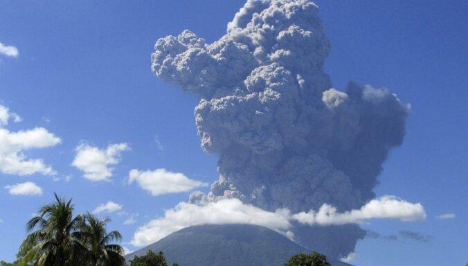 В Сальвадоре тысячи людей эвакуированы из-за вулкана (ФОТО)