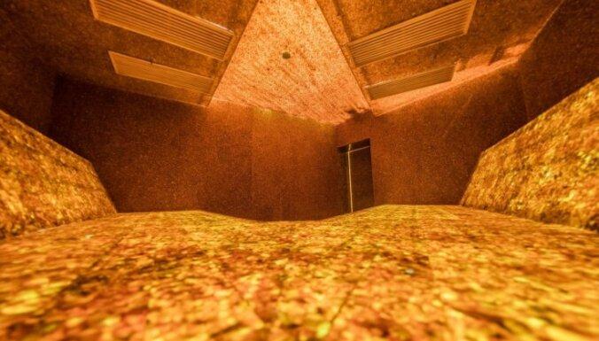 ФОТО, ВИДЕО. В Литве открылась первая в мире янтарная баня