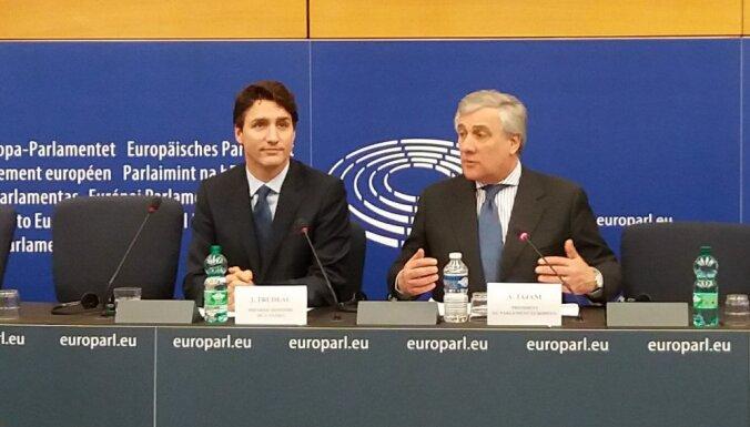 'Delfi' no Strasbūras: No CETA lielākie ieguvēji būs Eiropas un Kanādas vidusslānis, paziņo Trudo
