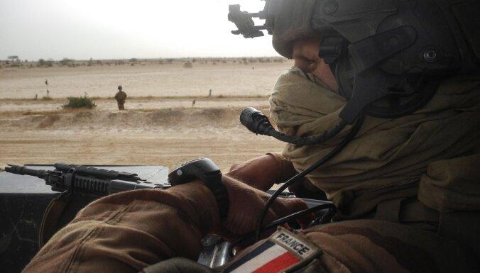 Francijas bruņotie spēki nogalinājuši islāmistu līderi