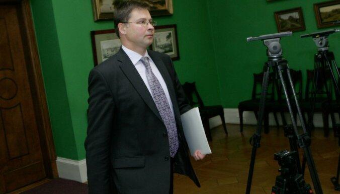 Dombrovskis: virzība uz ciešāku savienību Eiropā ir nepārprotama
