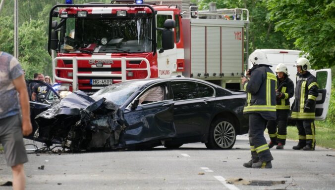 На дорогах Латвии в этом году погибли 58 человек, в том числе шесть детей