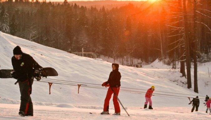 Горнолыжный сезон в Латвии: желающих много, трасс мало, чтобы покататься - нужно регистрироваться электронно