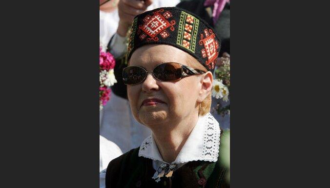 Президент: мне удалось стать президентом для всего народа Латвии
