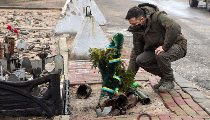Ukrainas austrumos sprādzienā gājuši bojā trīs karavīri