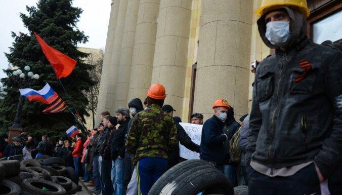 Митингующие провозгласили независимость Харьковской области