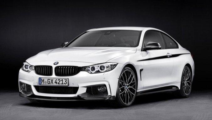 'BMW' 4. sērijas kupeja ar 'M Performance' pakotni
