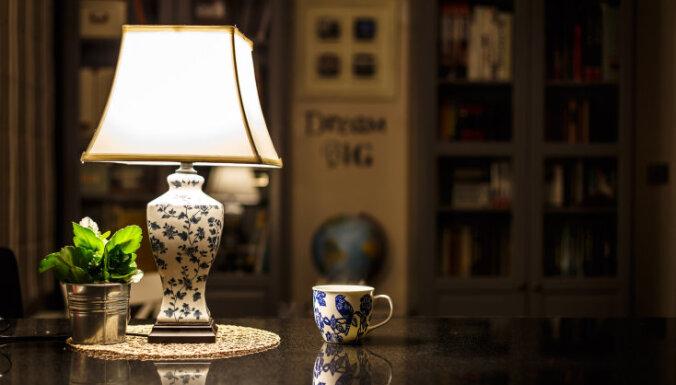 Как правильно подобрать высоту у настольных ламп и торшеров