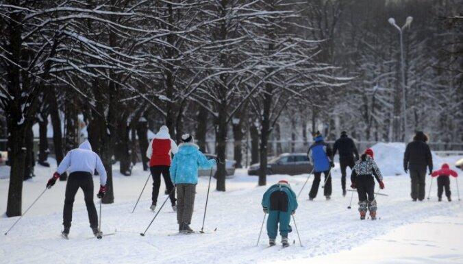 В Риге пройдет семейный зимний спортивный фестиваль