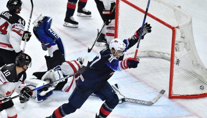 Американцы впервые за четыре года оставили Канаду без медалей на чемпионатах мира
