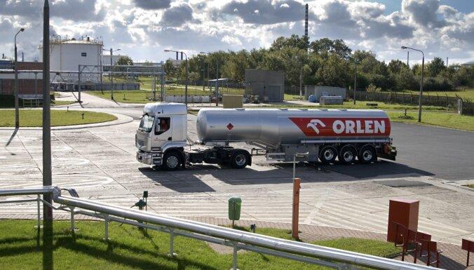 У производящей бензин и дизельное топливо компании Orlen Lietuva - крупные убытки