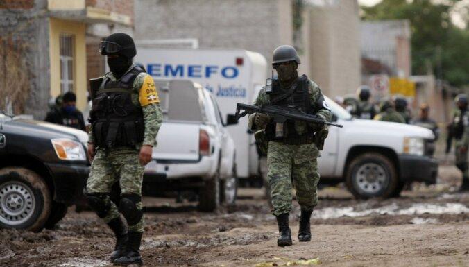 Kaujinieku uzbrukumā Meksikas narkomānu rehabilitācijas centram nogalināti 24 cilvēki