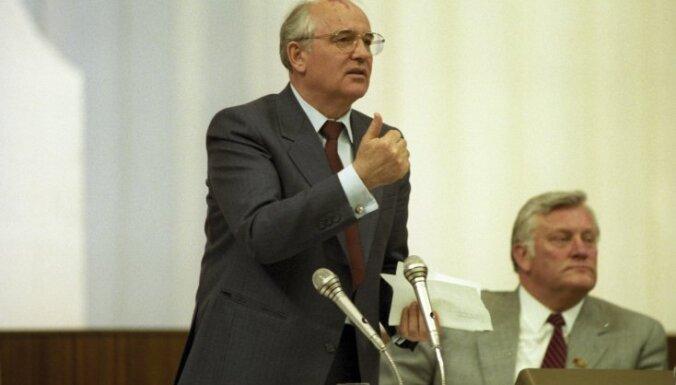 #Ziņas1991: Gorbačova nesakarīgais 'priekšnesums' un VEF basketbolisti PSRS izlasē