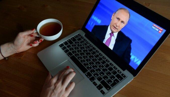 Tilersons: Krievijas jaukšanās ASV vēlēšanās bija 'hibrīdā karadarbība'