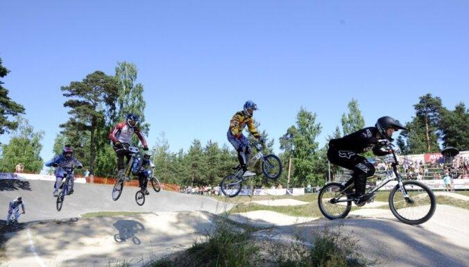 56 Latvijas BMX sportisti nedēļas nogalē sāks Eiropas kausa sezonu