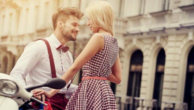 Flirtēšanas ābece: zinātniski pierādīti fakti, kas palīdzēs mājās doties ar 'lielo balvu'