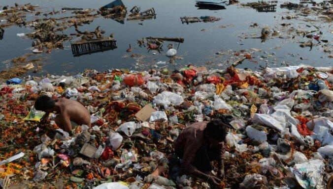 Indijā divas upes atzītas par cilvēciskām būtnēm