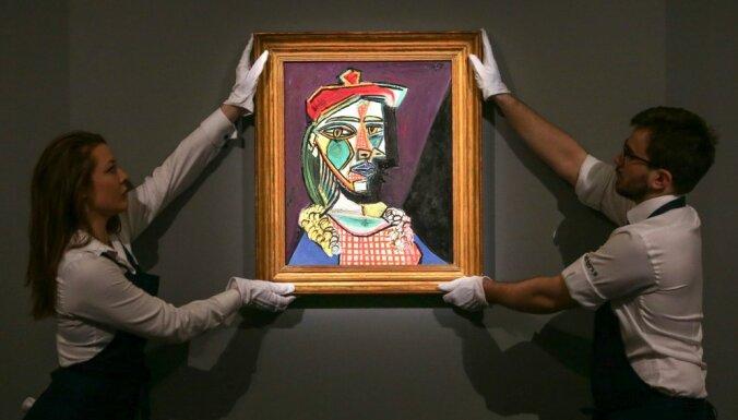 Портрет кисти Пабло Пикассо продан за почти 70 млн долларов