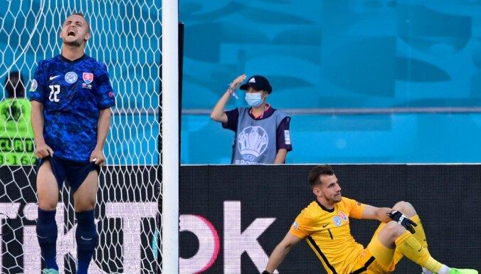 Вратарь сборной Словакии установил уникальное достижение, у Испании — антирекорд