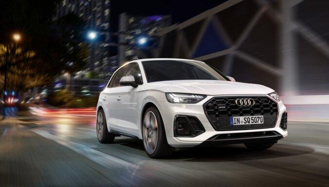 'Audi' modernizējis sportisko 'SQ5 TDI' apvidnieku