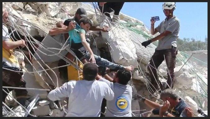 Сирия: взрыв оружейного склада в жилом доме унес жизни 12 детей