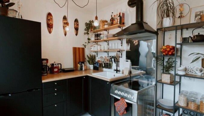 ФОТО. Интересная кухня в индустриальном стиле на 12 кв. метрах