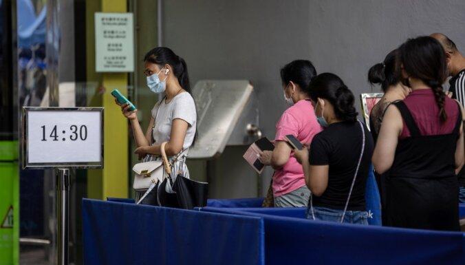Honkongai var nākties izmest miljoniem Covid-19 vakcīnu
