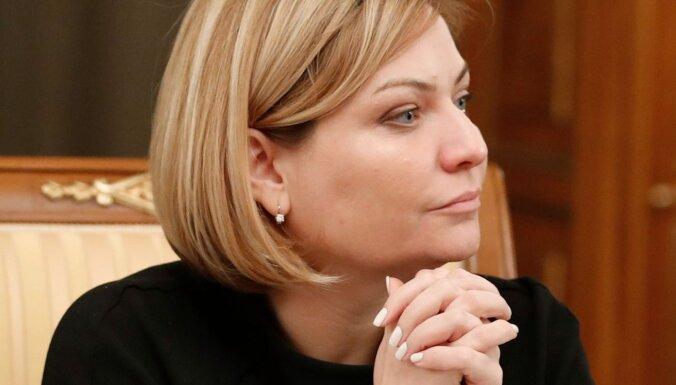 Krievijas kultūras ministrei apstiprināta saslimšana ar Covid-19