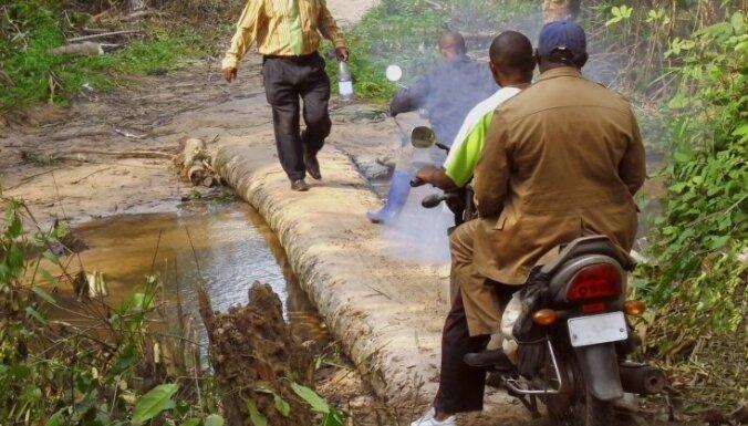 Ceļotājs no Latvijas devies uz bīstamāko zemi pasaulē jeb Kongo korupcijas džungļos