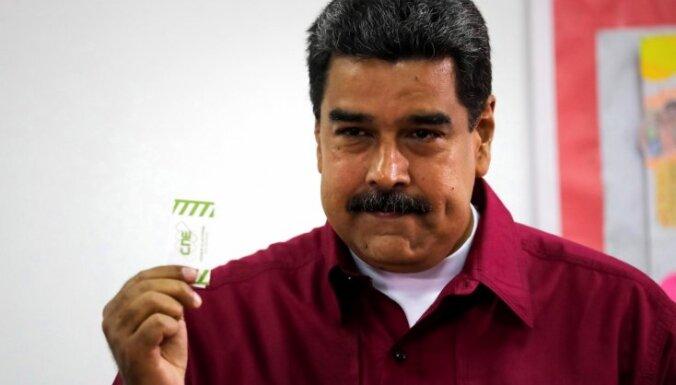 Foto: Venecuēlā notiek prezidenta vēlēšanas