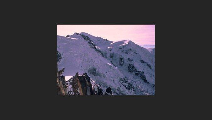 На Монблане разбилась эстонская альпинистка