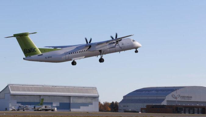 Civilās aviācijas aģentūra: 'airBaltic' ārkārtas nosēšanās bez šasijas – unikāls gadījums