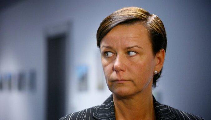 Bijusī iekšlietu ministre atjaunojusi darbību 'Vienotībā'