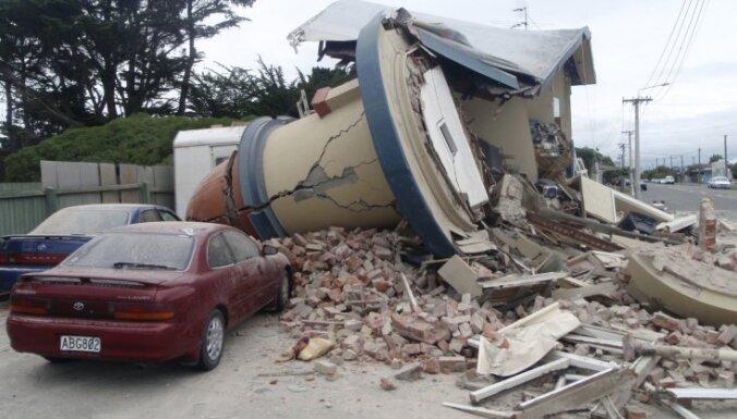 Jaunzēlandes zemestrīcē gājuši bojā vismaz 102 cilvēki