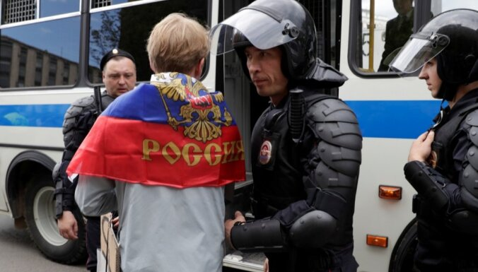 Пресс-секретарь Трампа призвал отпустить сторонников Навального